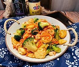 #味达美名厨福气汁,新春添口福#三鲜日本豆腐的做法