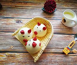 萌萌哒小猪豆沙包的做法