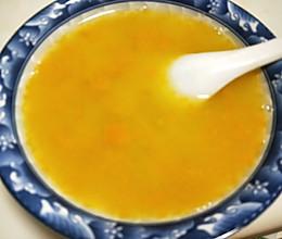 南瓜玉米糁汤的做法