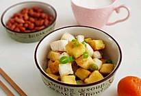 #换着花样吃早餐#炒金银馒头的做法