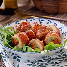 鲜蔬鸡肉卷