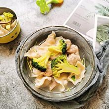 袖珍香菇猪肉饺子