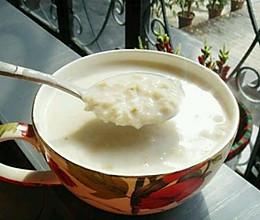 营养早餐——牛奶燕麦的做法