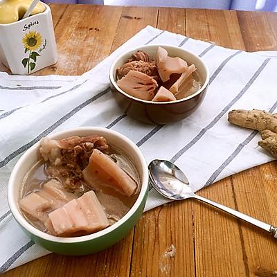 扇骨莲藕汤