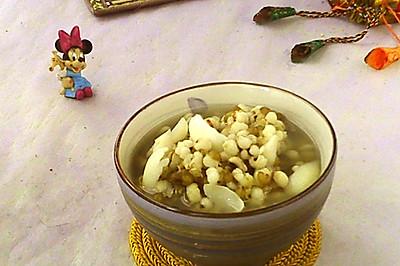 薏米绿豆百合粥