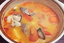 排骨鲍鱼山药胡萝卜番茄汤的做法