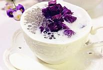 雄鷄標椰浆试用之---紫薯椰浆西米露的做法