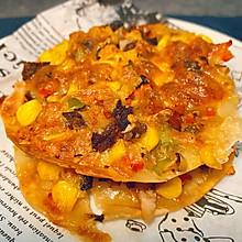 饺子皮之简易披萨