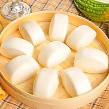 #春季食材大比拼#奶香馒头?宝宝辅食
