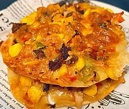 饺子皮之简易披萨的做法