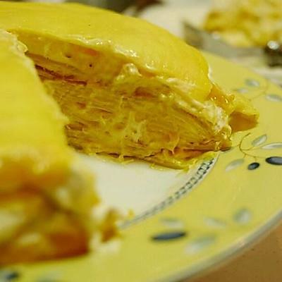 芒果(榴莲)千层蛋糕