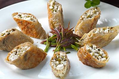 香椿豆腐卷