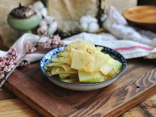 营养美味的白烧冬瓜的做法