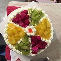 水果拼盘蛋糕的做法图解46