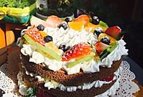 超级简单生日蛋糕的做法