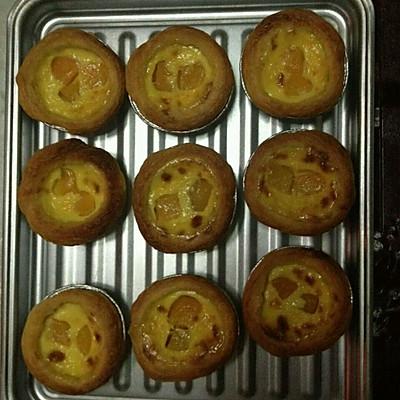 黄桃蛋挞的做法 步骤3