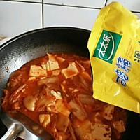 减肥餐  辣白菜豆腐汤的做法图解7