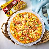 咖喱米饭披萨#百梦多Lady咖喱#