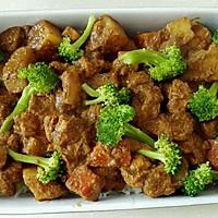 时蔬鸡肉咖喱焗饭(自制咖喱酱)#宜家让家更有味#的做法图解14