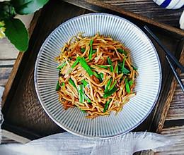 #憋在家里吃什么# 酱香芋头丝,米饭白粥随心配的做法