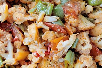 红烧干锅素花菜
