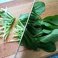 #爽口凉菜,开胃一夏!魔芋菠菜沙拉的做法图解3