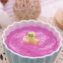 山药紫甘蓝苹果泥 宝宝辅食食谱