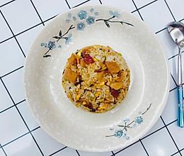虾仁腊肠炒饭的做法