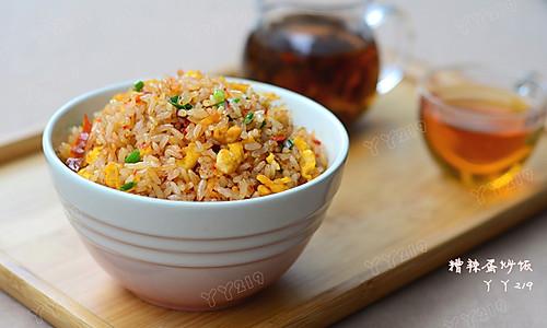 【糟辣蛋炒饭】——贵州经典炒饭的做法