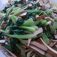 香干炒青菜