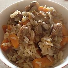 羊肉抓饭(4-5人份)