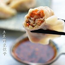 土豆肉末饺子#船歌鱼水饺#