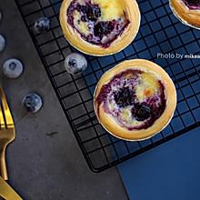 #肉食者联盟#爆浆蓝莓蛋挞