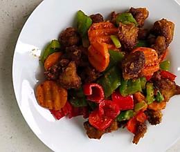 烧烤味猴头菇的做法