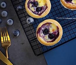 #肉食者联盟#爆浆蓝莓蛋挞的做法