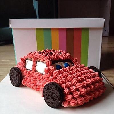 卡通汽车蛋糕