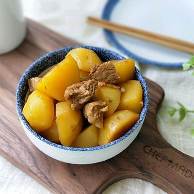 小土豆油焖五花肉的做法 步骤10