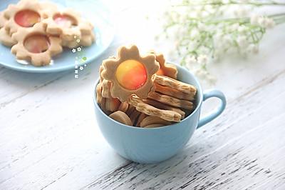 樱花彩色玻璃糖饼干-ACA ATO-E38HC立式烤箱食谱
