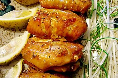 烤鸡翅(蒜蓉百里香烤鸡翅)