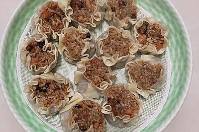 香菇火腿烧麦