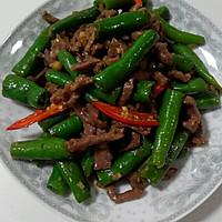 大喜大牛肉粉试用之——杭椒牛柳的做法图解16