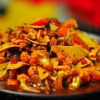 #菁选酱油试用之豉椒花菜的做法图解11