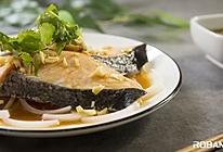 低温清蒸三文鱼的做法