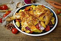 蒜香烤鸡#秋天怎么吃#的做法