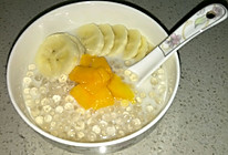 水果牛奶西米露的做法