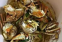 半蟹粉丝煲的做法