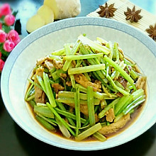 香芹肉沫豆腐