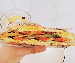 简单快手好吃又营养的三明治(三明治机版本)的做法