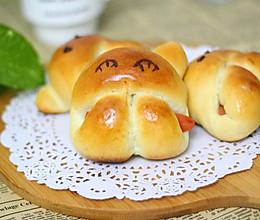 小兔子面包的做法