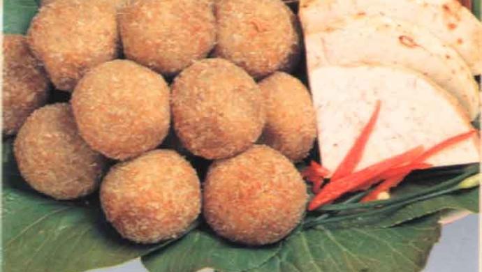 芋圆(我们家经常做)